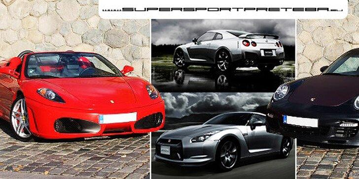 Jazda na Ferrari, Porsche alebo Nissane GT-R