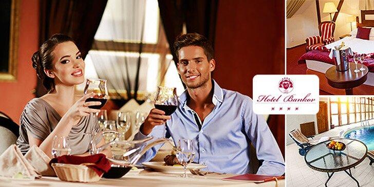 Romantický wellness pobyt v Hoteli Bankov****