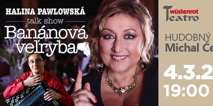 Divadelná talk show Haliny Pawlowskej Banánová veľryba