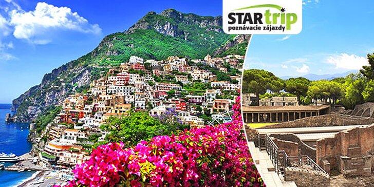 4-dňový poznávací zájazd do historických Pompejí, na Capri a do Neapolu