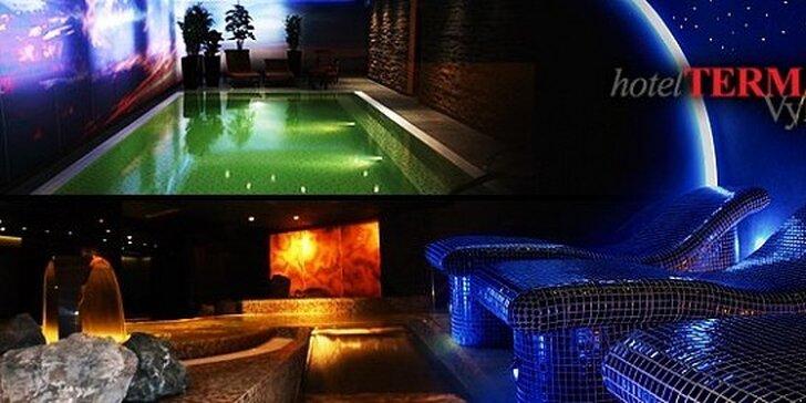 109 eur za wellness pobyt pre DVE osoby v hoteli TERMÁL***Vyhne. Doprajte si oddych v prekrásnom prostredí Štiavnických vrchov !