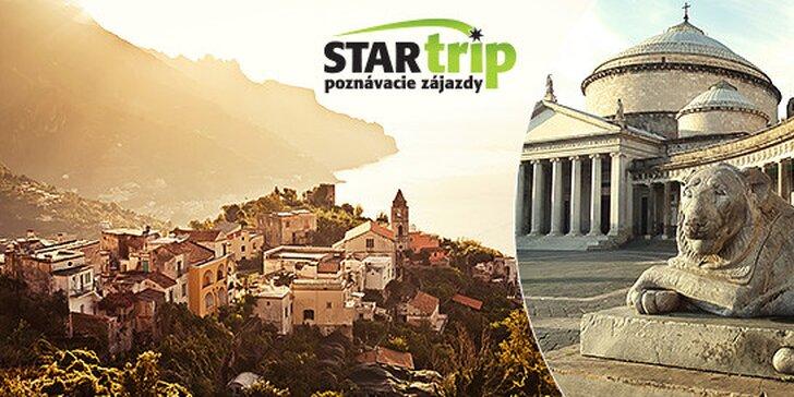 5-dňový poznávací zájazd do Neapolu, Pompejí, Sorrenta a na Capri