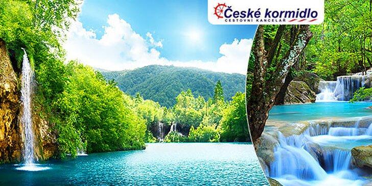 Plitvické jazerá v Chorvátsku – Po stopách Winnetoua!