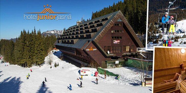 V Jasnej sa stále lyžuje! - SUPER LAST MINUTE Wellness & Ski pobyt v Hoteli Junior Jasná***