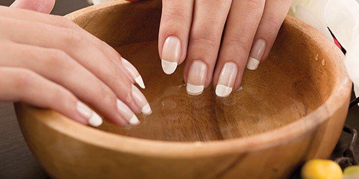 Spevnenie prírodných nechtov ECO UV gélom alebo BIO pokrytím, Japonská manikúra, Wellness manikúra