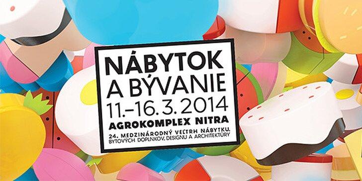 Medzinárodný veľtrh Nábytok a bývanie 2014 - Agrokomplex Nitra