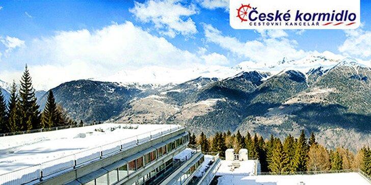 Ubytovanie priamo na lyžiarskych svahoch v Alpách