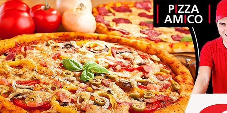 2 pizze Amico na donášku