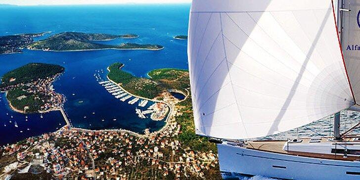 Týždeň na jachte na Jadrane - možnosť spraviť si kapitánske skúšky