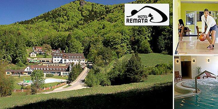 Hotel Remata*** fantastický wellness, ALL INCLUSIVE večera + 1 dieťa do 12 rokov zdarma!