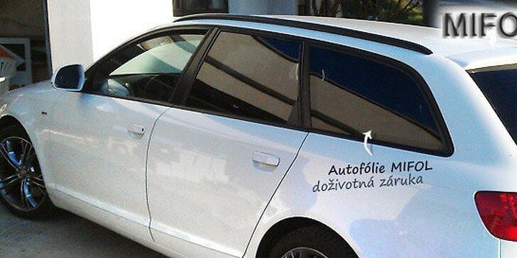 Autofólie MIFOL s doživotnou zárukou