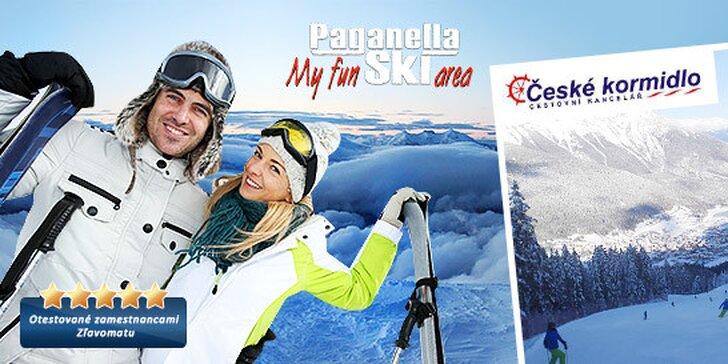 3 dni špičkového lyžovania v SKI Paganella