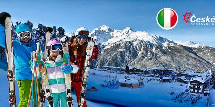 Totálny výpredaj lyžovania v Taliansku - skipas, hotel aj doprava