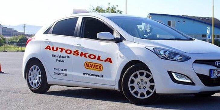 Kondičné jazdy v autoškole MAVEX za super cenu