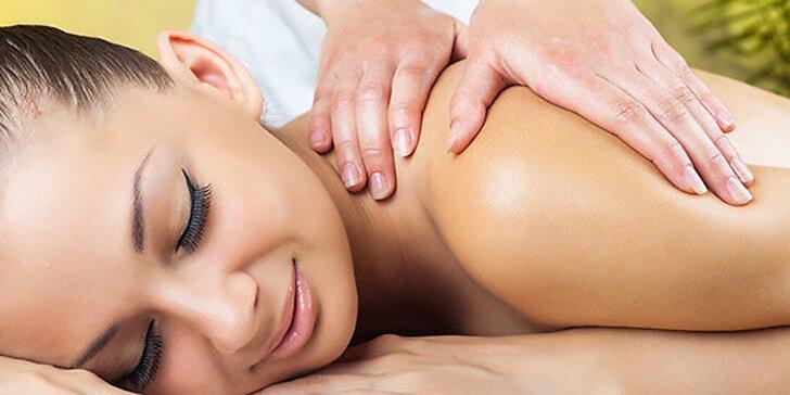 Kombinovaná hodinová masáž v Aspira centre
