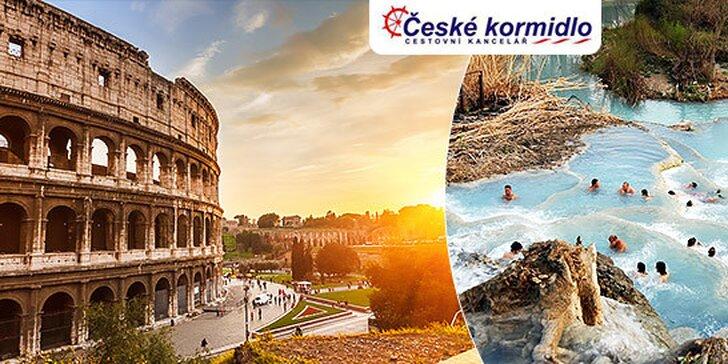 4 dňový zájazd do Ríma, Tivoli a kúpeľov Saturnia