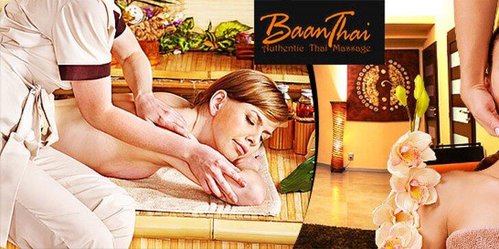 Luxusné thajské procedúry v exotickom BaanThai