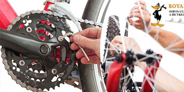 Profesionálny servis pre váš bicykel