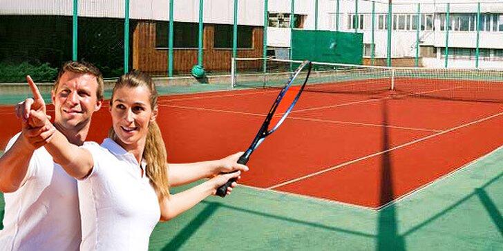 Prenájom tenisového kurtu - 1, 5 alebo 10 hodín
