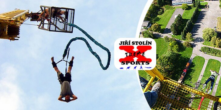 Najvyšší Bungee Jumping v Čechách a Slovensku!