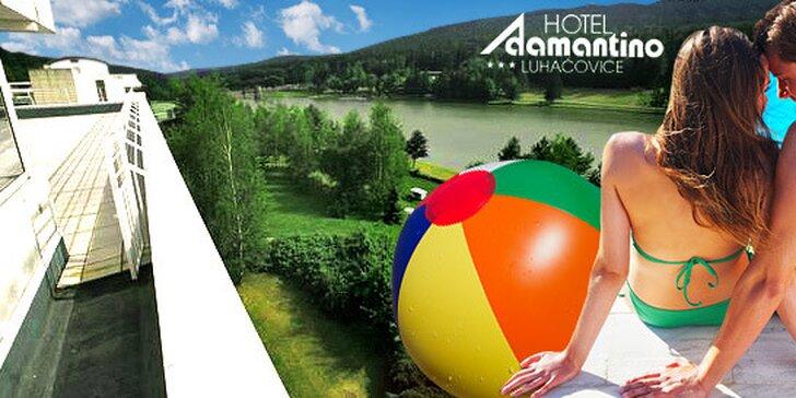 89 eur za 3-dňový romantický pobyt pre dvoch v hoteli Adamantino*** v Luhačoviciach. Zažite so svojou láskou nezabudnuteľný víkend v kúpeľnom meste so zľavou 56%.