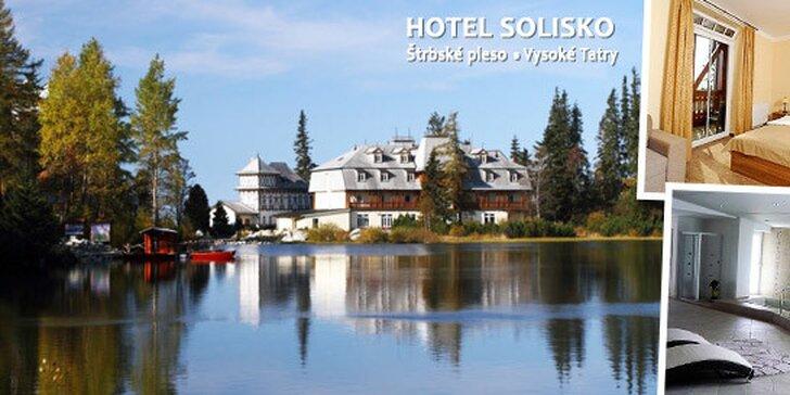 Jarné prebudenie v Hoteli Solisko**** pri Štrbskom Plese - last minute