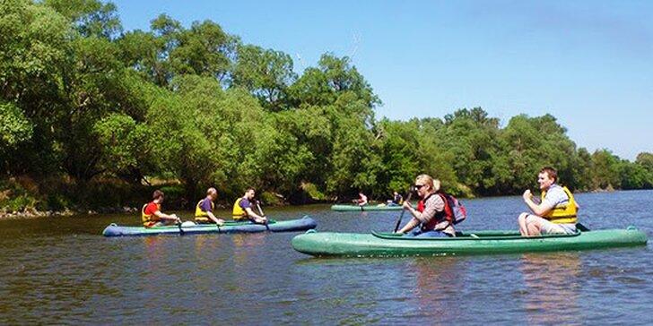 Splav Malého Dunaja na kanoe vhodný aj pre deti