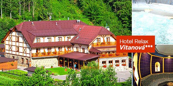Jarný wellness pobyt na Orave v Hoteli Relax Vitanová***