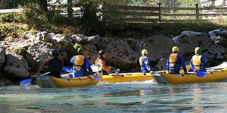 Dobrodružný rafting v rakúskych Alpách - leto 2014