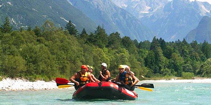 Nezabudnuteľný 4-dňový XXL rafting v Slovinsku jún - september 2014