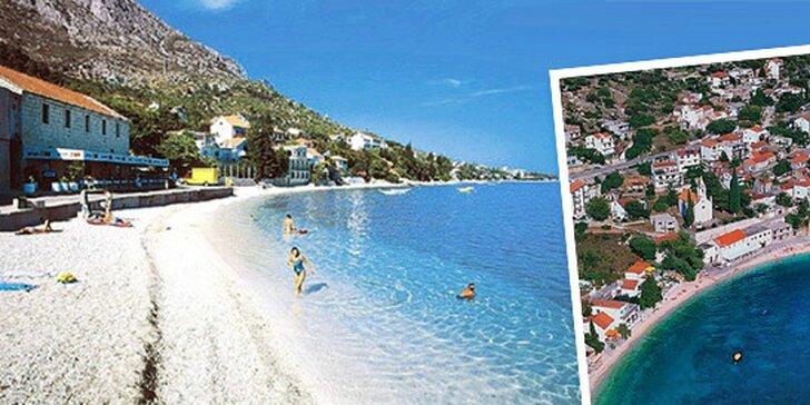 4 alebo 8 dní na slnečnej Makarskej pre 2 osoby