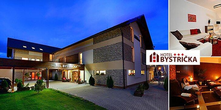 Romantický pobyt pre dvoch v Hoteli Bystrička***