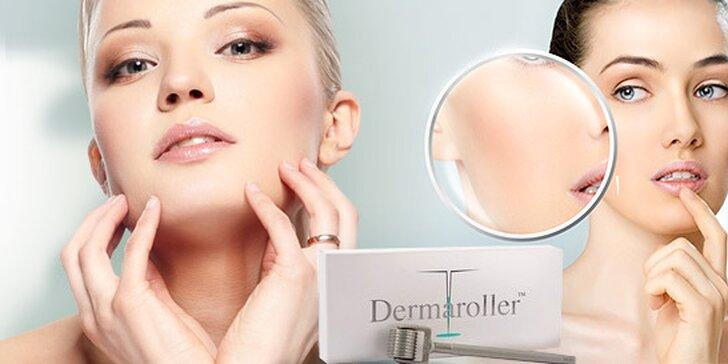Anti-agingová mezoterapia dermarollerom na omladenie pokožky