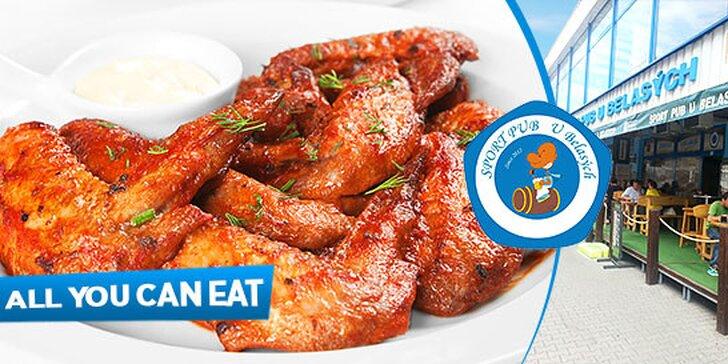 Grilované kuracie krídelká pre 2 osoby – zjedz, koľko vládzeš