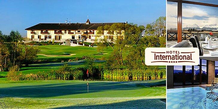 Hotel International**** jedinečný luxusný wellness a golf resort vo Vysokých Tatrách