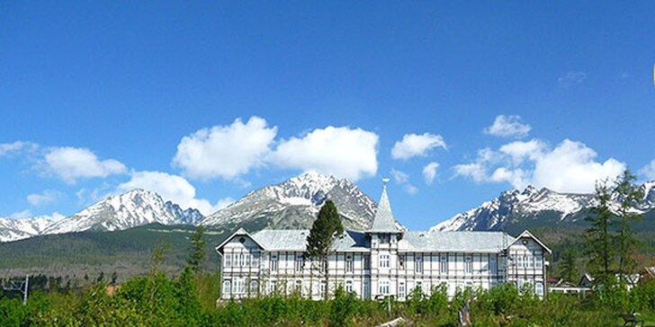 Jarná dovolenka v Hoteli Palace Tivoli*** vo Vysokých Tatrách