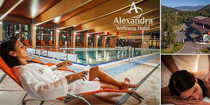 Exkluzívna wellness a rodinná dovolenka v hoteli Alexandra***, až 2 deti do 15 rokov zadarmo