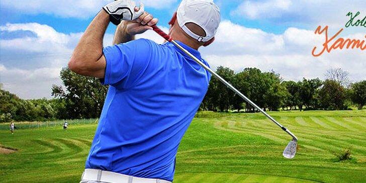 Odpaľujte ako Tiger Woods: lekcie golfu s trénerom