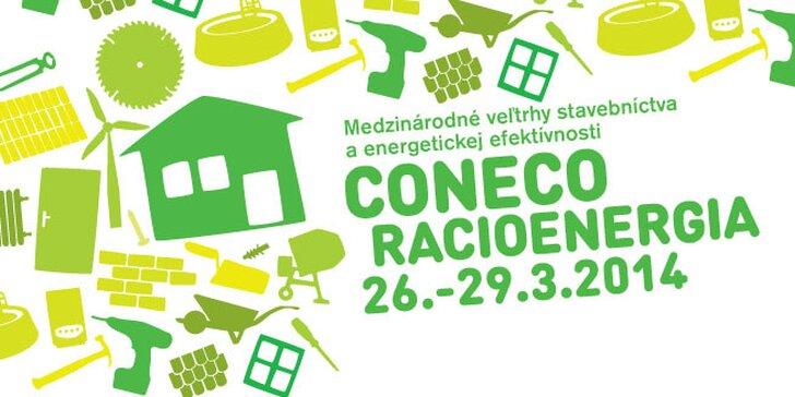 Vstup na medzinárodný veľtrh stavebníctva CONECO