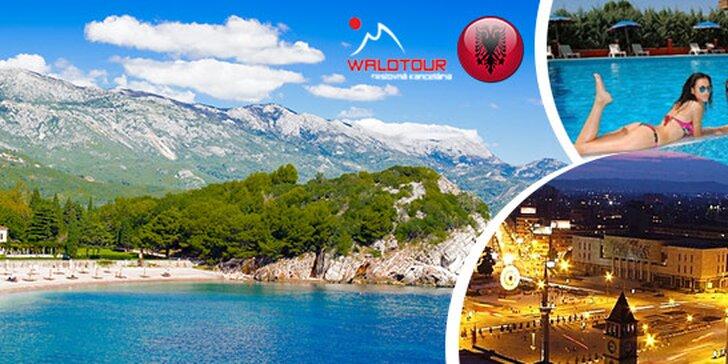 Slnečné Albánsko na 8 dní aj s polpenziou