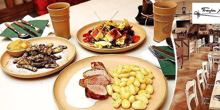 Netradičné menu inšpirované francúzskou kuchyňou