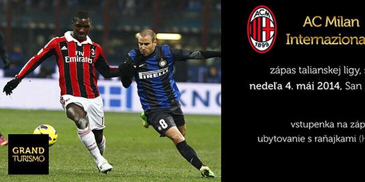 Zájazd na derby zápas AC Milano - Inter Milano