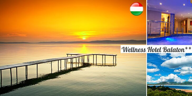Jarný relax pre 2 osoby vo wellness hoteli Balaton***