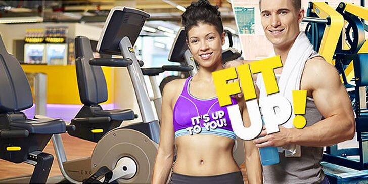 2 vstupy do novootvoreného Fit UP! fitness centra takmer zadarmo