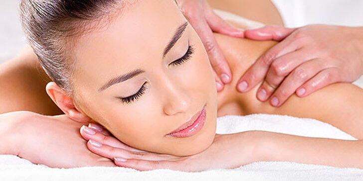Dokonalý relax s klasickou masážou, bankovaním alebo rašelinovým obkladom