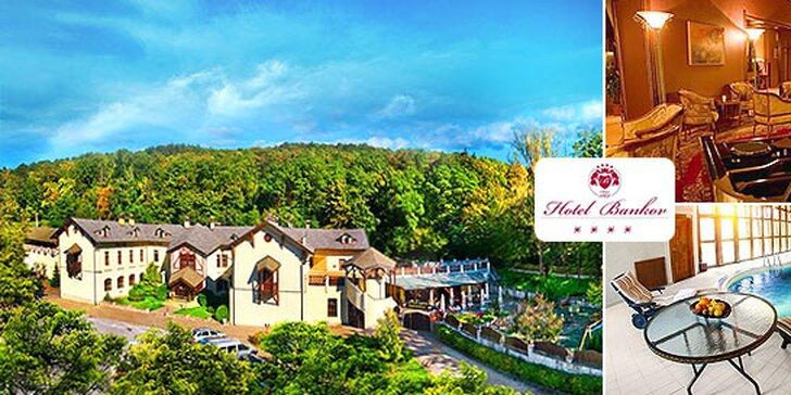 Relaxačný wellness pobyt v Hoteli Bankov**** v najstaršom hoteli na Slovensku