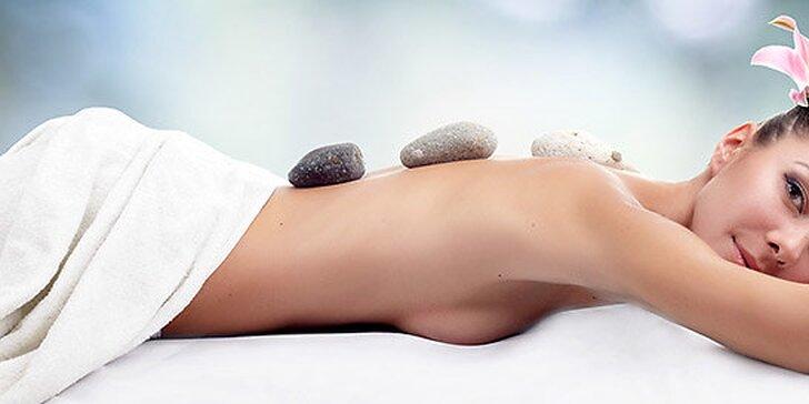 Masáž lávovými kameňmi alebo klasická masáž