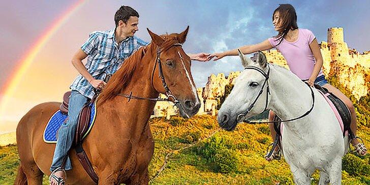 Jazda na koni s vychádzkou k Spišskému hradu