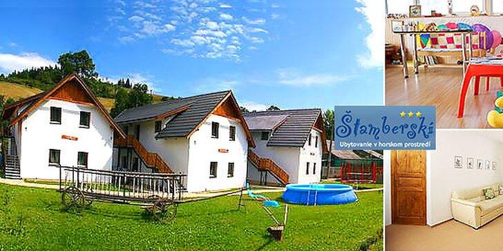 Relax pre 4 osoby v Penzióne Štamberskí*** na Orave