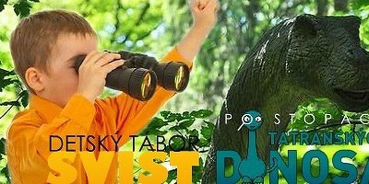 Detský prázdninový tábor - Po stopách Tatranských dinosaurov